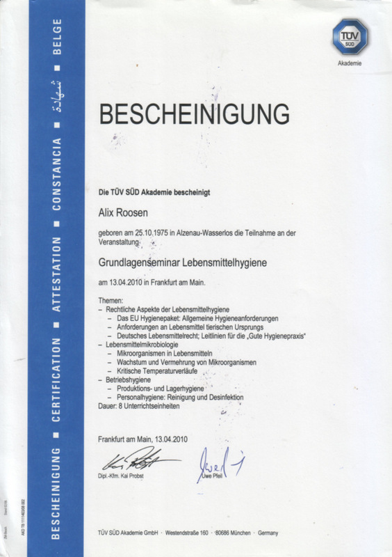 HACCPSchulung